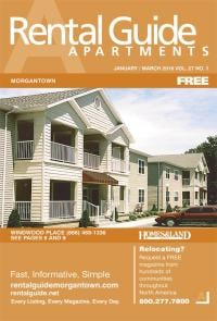 Rental Guide of Morgantown Magazine Cover