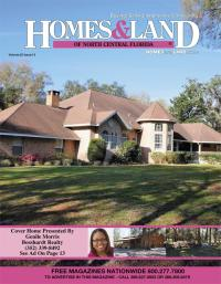 Homes & Land of North Central Florida Magazine Cover