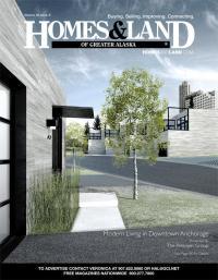 Homes & Land of Greater Alaska Magazine Cover