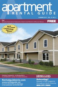 Rental Guide of Erie Magazine Cover