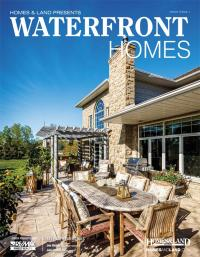 Homes & Land Waterfront & Recreational Real Estate Magazine Cover