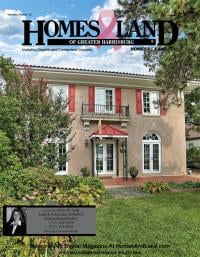 Homes & Land of Greater Harrisburg Magazine Cover